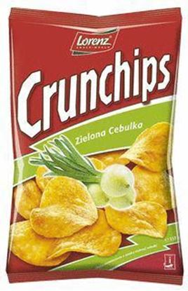 Picture of CHIPSY 150G ZIELONA CEBULKA CRUNCHIPS