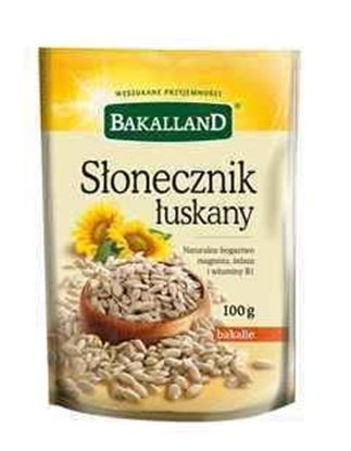 Picture of SLONECZNIK LUSKANY 100G BAKALLAND