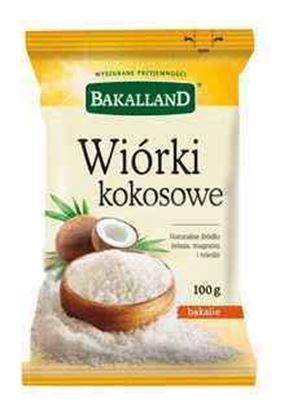 Picture of WIORKI KOKOSOWE 100G BAKALLAND