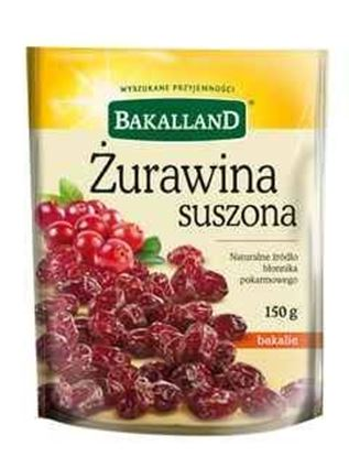 Picture of ZURAWINA SUSZONA 150G BAKALLAND