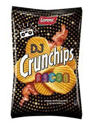 Picture of CHIPSY CRUNCHIPS DJ BACON 140G