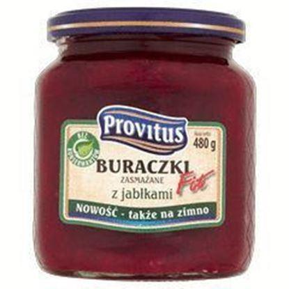Picture of BURACZKI ZASMAZANE Z JABLKAMI FIT 520G PROVITUS