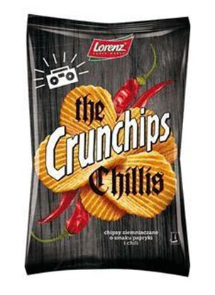 Picture of CHIPSY CRUNCHIPS THE CHILLIS 140G