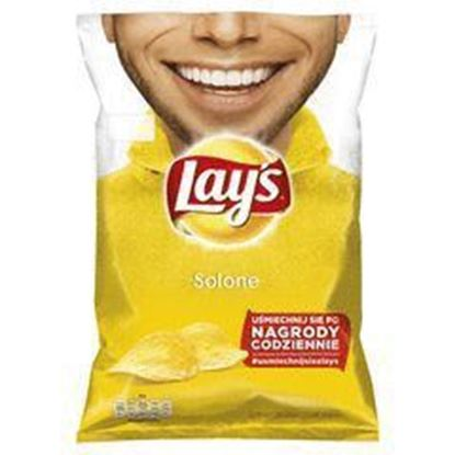Picture of CHIPSY LAYS 140G NATURALNE SOLONE