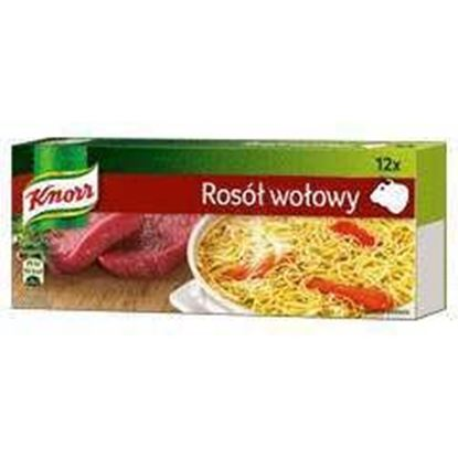 Picture of BULION KNORR WOLOWY 120G (6L) KOSTKA 12szt.