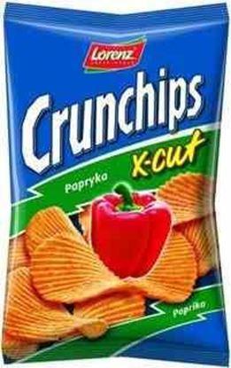Picture of CHIPSY CRUNCHIPS X-CUT 150G PAPRYKA LORENZ BAHLSEN