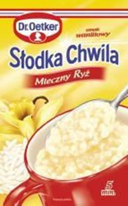 Picture of DESER SLODKA CHWILA MLECZNO RYZOWA WANILIOWA 58G DR OETKER