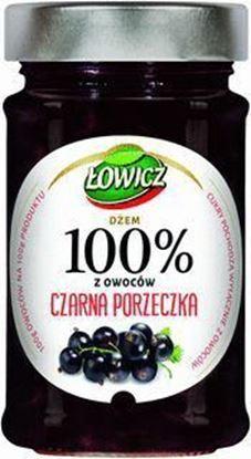 Picture of DZEM LOWICZ 220G 100% OWOCOW CZARNA PORZECZKA