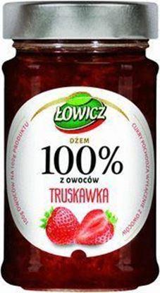Picture of DZEM LOWICZ 220G 100% OWOCOW TRUSKAWKA