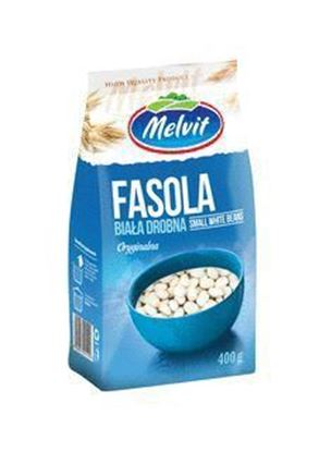 Picture of FASOLA BIALA DROBNA 400G MELVIT