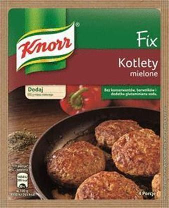 Picture of FIX KNORR KOTLETY MIELONE 64G