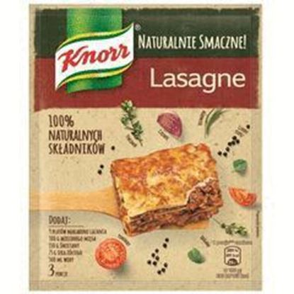 Picture of FIX KNORR NATURAL LASAGNE 60G