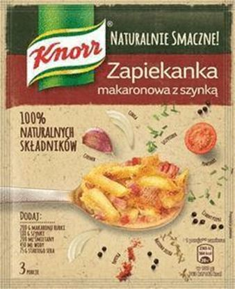 Picture of FIX KNORR NATURAL ZAPIEKANKA MAKARONOWA Z SZYNKA 44G