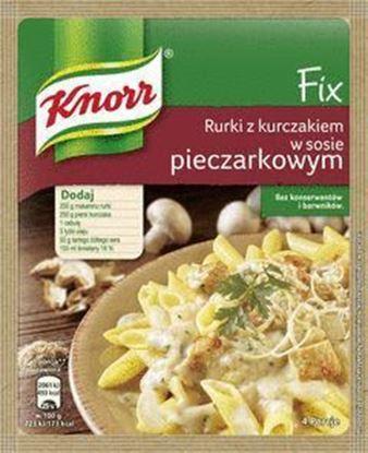Picture of FIX KNORR RURKI Z KURCZAKIEM W SOSIE PIECZARKOWYM 33G