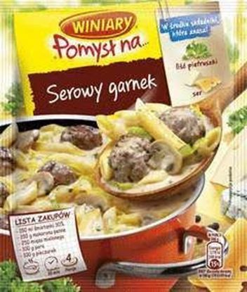 Picture of FIX WINIARY POMYSL NA KREMOWO-SEROWY GARNEK 34G