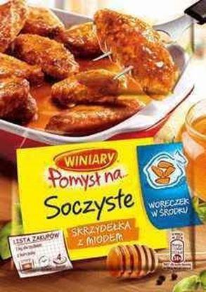 Picture of FIX WINIARY POMYSL NA SOCZYSTE SKRZYDELKA Z MIODEM 28G