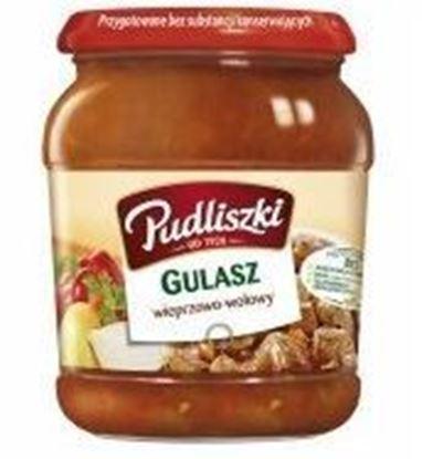 Picture of GULASZ WIEPRZOWO WOLOWY 500G PUDLISZKI