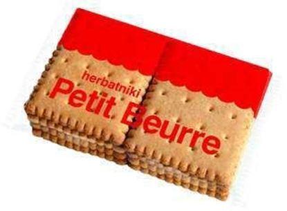 Picture of HERBATNIKI PETIT BEURRE 65G JUTRZENKA