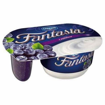 Picture of JOGURT FANTASIA Z JAGODAMI 122G DANONE