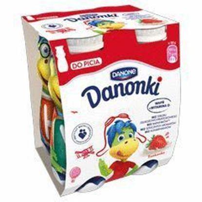 Picture of JOGURT PITNY DANONKI (SMOKI) TRUSKAWKA 4X100G DANONE