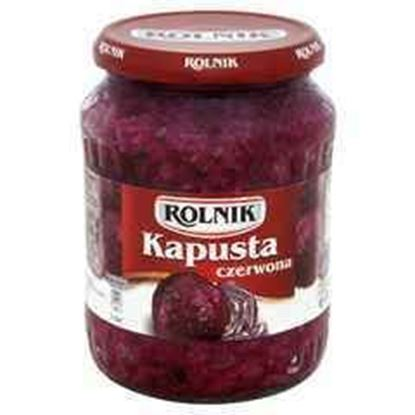 Picture of KAPUSTA CZERWONA 720ML ROLNIK