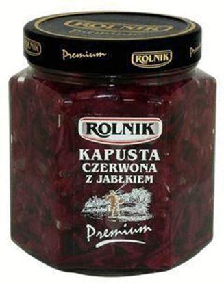 Picture of KAPUSTA CZERWONA Z JABLKIEM 560ML PREMIUM ROLNIK