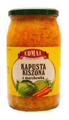 Picture of KAPUSTA KISZONA Z MARCHEWKA 900ML EDMAL