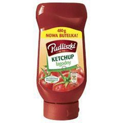 Picture of KETCHUP PUDLISZKI LAGODNY 470G BUT PLAST
