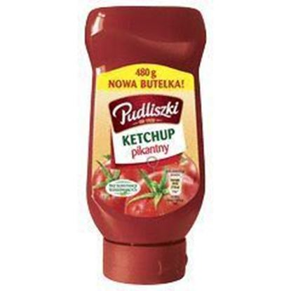 Picture of KETCHUP PUDLISZKI PIKANTNY 480G BUT PLAST