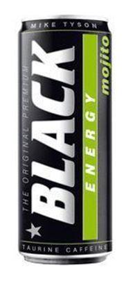 Picture of NAPOJ ENERGETYCZNY BLACK 250ML MOJITO PUSZKA FOODCARE