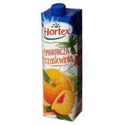 Picture of NAPOJ HORTEX 1L POMARANCZA-BRZOSKWINIA  KART