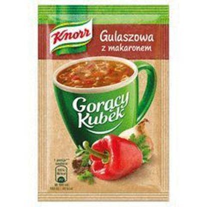 Picture of ZUPA KNORR GORACY KUBEK GULASZOWA Z MAKARONEM 16G