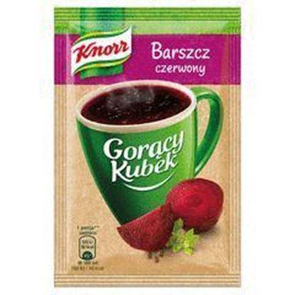Picture of ZUPA KNORR GORACY KUBEK BARSZCZ CZERWONY 14G