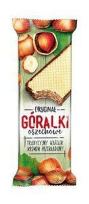 Picture of WAFLE GORALKI ORZECHOWE 50G IDC POLONIA