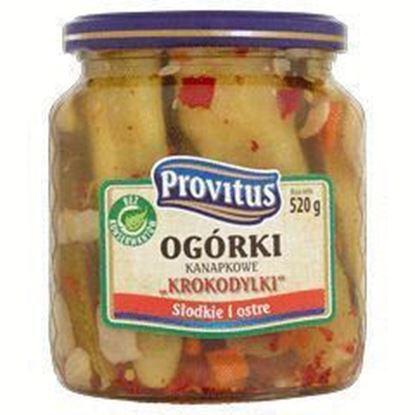 Picture of OGORKI KANAPKOWE KROKODYLKI 520G PROVITUS