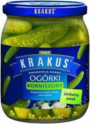 Picture of OGORKI KORNISZONY 500G KRAKUS