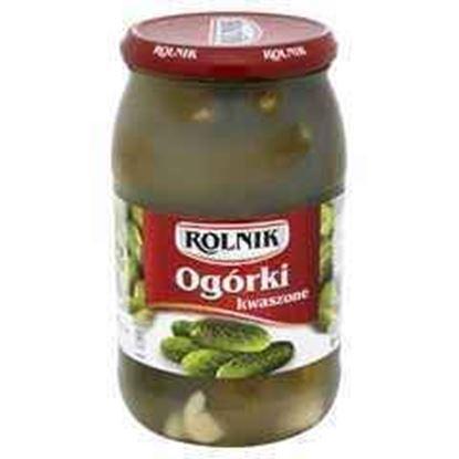 Picture of OGORKI KWASZONE 900ML ROLNIK