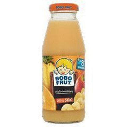 Picture of SOK BOBOFRUT 300ML JABLKO BANAN MARCHEW (6MC)