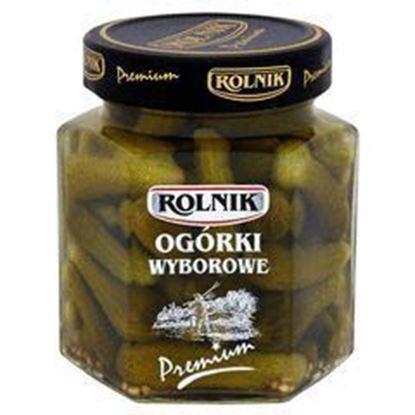 Picture of OGORKI WYBOROWE 314ML PREMIUM ROLNIK