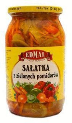 Picture of SALATKA Z ZIELONYCH POMIDOROW 900ML EDMAL