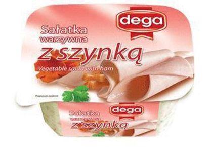 Picture of SALATKA MIESNA 280G  Z SZYNKA DEGA