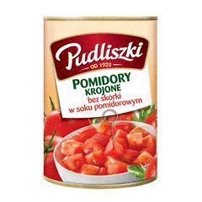 Picture of POMIDORY PUDLISZKI KROJONE 400G PUSZKA