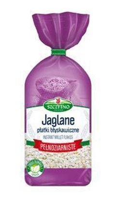 Picture of PLATKI JAGLANE PELNOZIARNISTE 400G SZCZYTNO MELVIT
