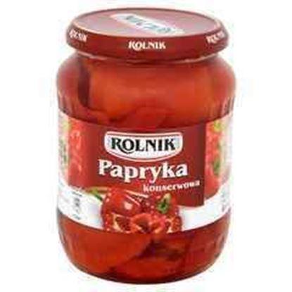 Picture of PAPRYKA KONSERWOWA 720ML ROLNIK