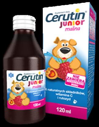 Picture of Cerutin Junior malina, syrop, 120 ml