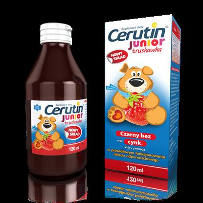 Picture of Cerutin Junior truskawka, syrop, 120 ml