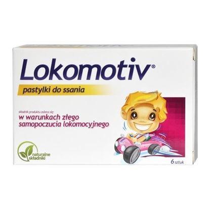Picture of Lokomotiv, pastylki do ssania, 6 sztuk