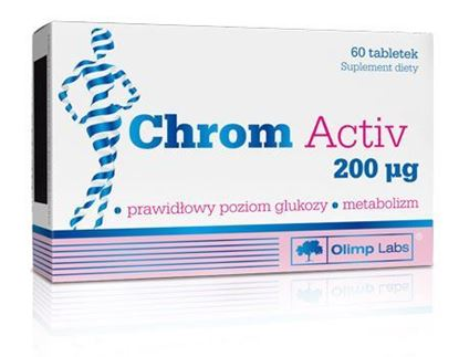 Picture of Chrom Activ, 200 mcg, 60 tabletek