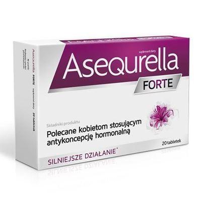 Picture of Asequrella Forte, 20 tabletek