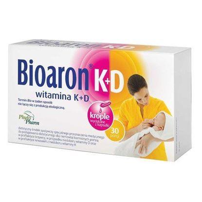 Picture of Bioaron K+D, witamina K + D, krople do wyciskania z kapsułki, 30 porcji